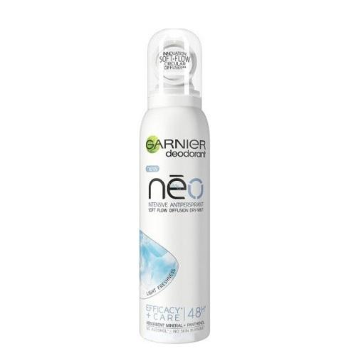 Garnier Antiperspirant ve spreji s panthenolem Light freshness Néo (Intensive Antiperspirant) 150 ml