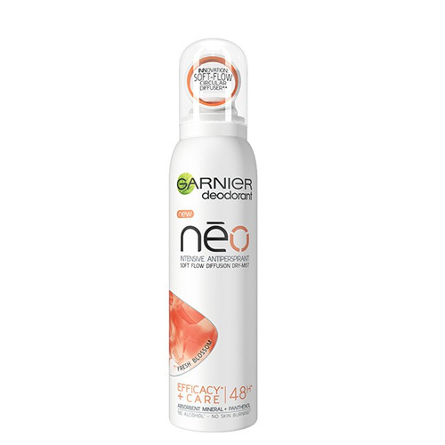 Garnier Antiperspirant ve spreji s panthenolem Pure Cotton Néo (Intensive Antiperspirant) 150 ml