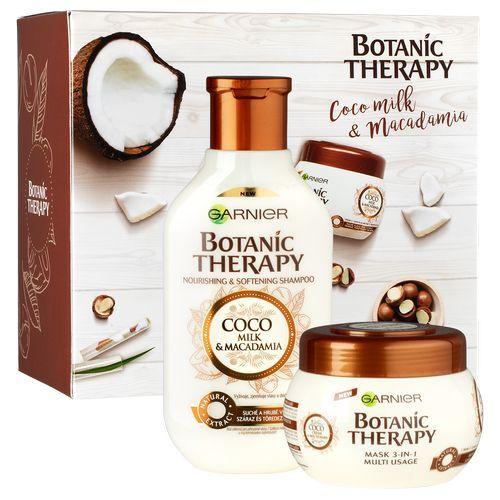 Garnier Botanic Therapy Coco Milk & Macadamia šampon pro poškozené a suché vlasy 250 ml + maska na vlasy 300 ml dárková sada