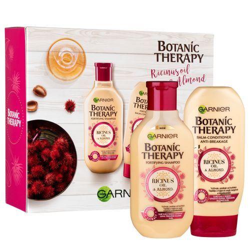 Garnier Botanic Therapy Ricinus Oil & Almond šampon pro slabé vlasy s tendencí vypadávat 250 ml + balzám 200 ml dárková sada