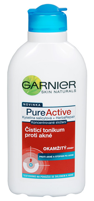 Garnier PureActive čisticí tonikum proti akné 200 ml