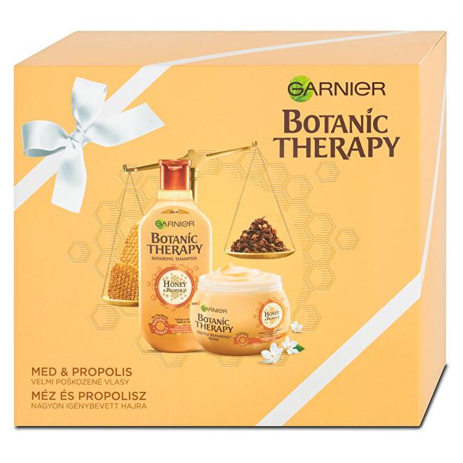 Garnier Botanic Therapy Honey & Propolis šampon pro velmi poškozené vlasy 250 ml + Botanic Therapy Honey & Propolis maska pro velmi poškozené vlasy 300 ml dárková sada