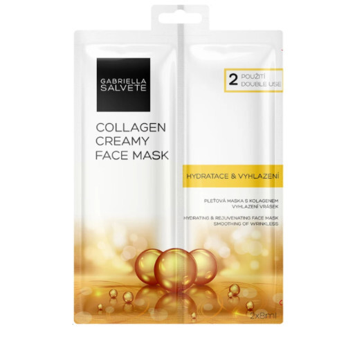 Gabriella Salvete Pleťová maska Collagen Creamy Face Mask 2 x 8 ml