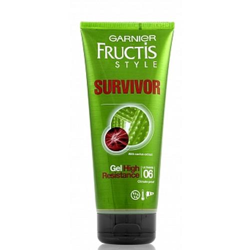 Garnier Gel na vlasy s výtažky z kaktusu Survivor (High Resistance Gel) 200 ml
