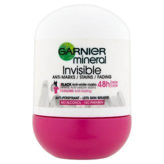 Garnier Antiperspirant minerale pentru o  prospețime  de lunga durata  Roll-on Invisible 50 ml