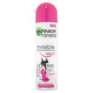 Garnier Minerálne dezodorant pre dlhotrvajúcu sviežosť v spreji Invisible 150 ml
