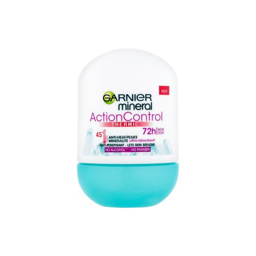 Garnier Minerálne dezodorant roll-on Mineral Action Control Thermic 50 ml