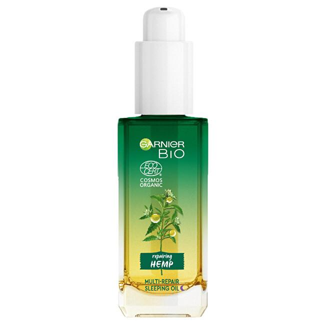Garnier Multi-regenerační noční olej s bio konopným olejem BIO (Multi-Repair Sleeping Oil) 30 ml
