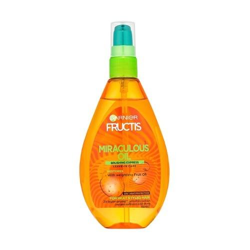 Garnier Ulei de păr pentru aranjarea termică Fructis (Miraculous Oil Brushing Express) 150 ml