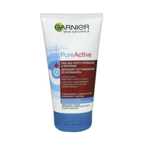 Garnier Peeling proti pupínkům a skvrnám PureActive 150 ml
