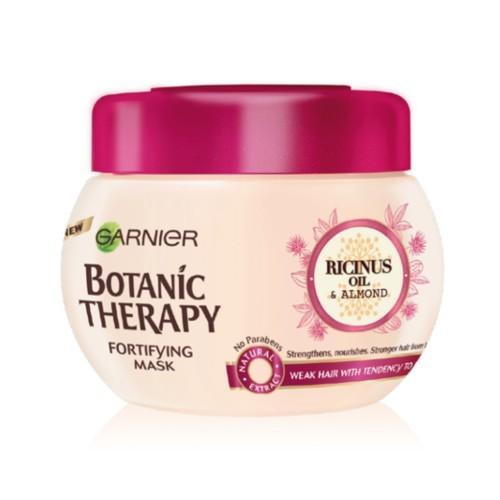 Garnier Posilňujúci maska s ricínovým a mandľovým olejom pre slabé a  lámajúce sa vlasy Botanic Therapy f070cf2fb6f