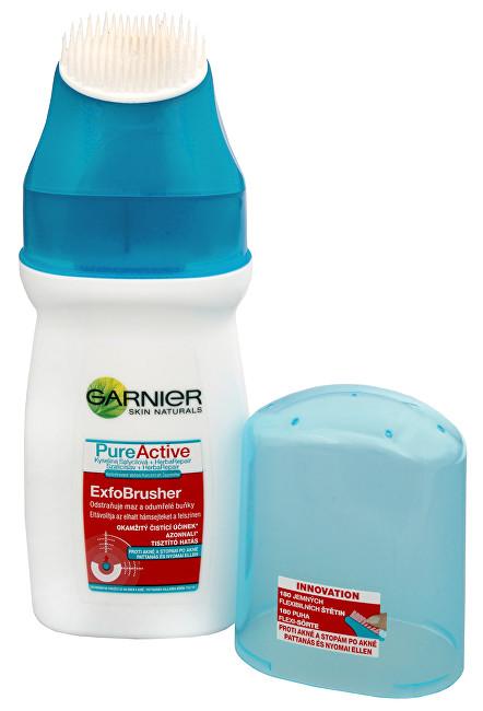 Garnier PureActive čisticí gel s kartáčkem ExfoBrusher 150 ml