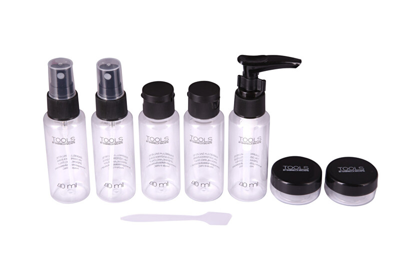 Gabriella Salvete Sada cestovných fľaštičiek na kozmetiku Tools Travel Beauty Kit