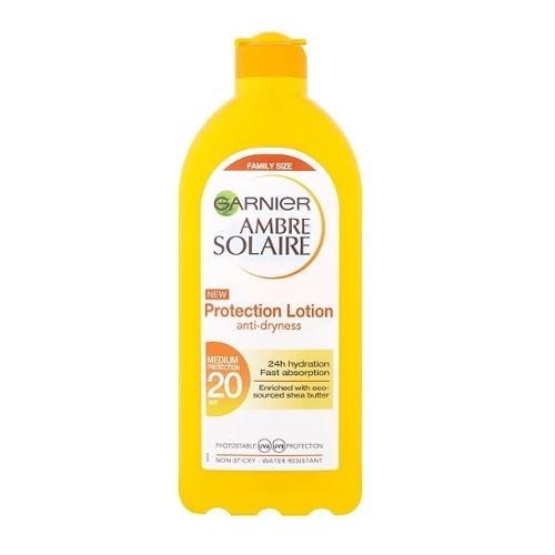 Garnier Voděodolné opalovací mléko OF 20 Ambre Solaire (Protection Lotion) 400 ml