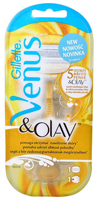 Gillette Venus & Olay dámský holicí strojek + 1 hlavice