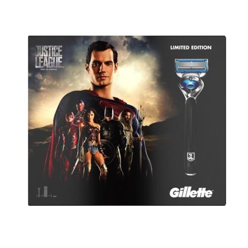 Gillette Set cadou pentru bărbați Justice League Superman