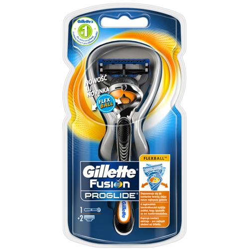 Gillette Holicí strojek ProGlide Flexball + náhradní hlavice 2 ks