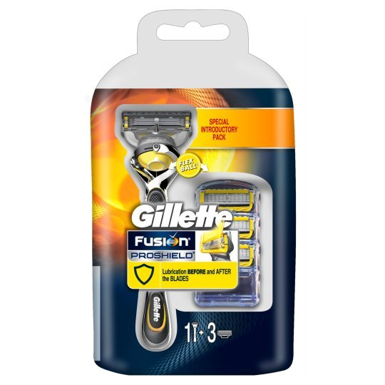 Gillette Holicí strojek stechnologií Flexball Fusion ProShield