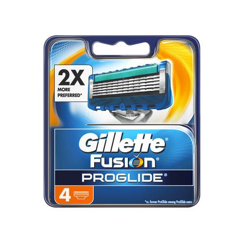 Gillette Náhradní hlavice Fusion Proglide 4 ks
