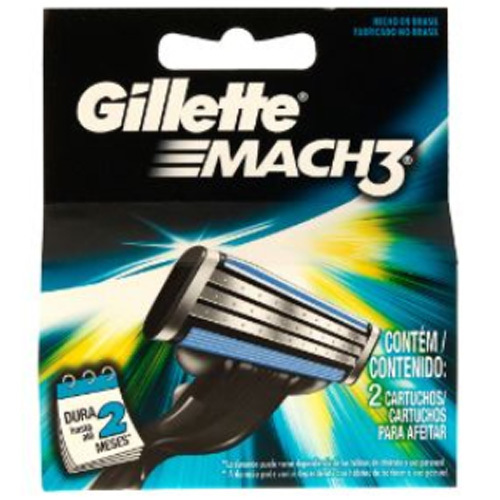 Gillette Náhradné hlavice Gillette Mach3 2 ks