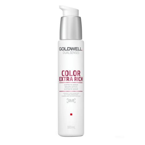 Goldwell Bezoplachové sérum na nepoddajné vlasy Dualsenses Color Extra Rich (6 Effects Serum) 100 ml