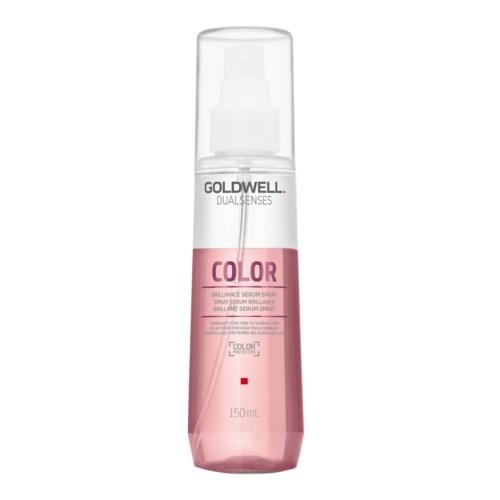 Goldwell Bezoplachové sérum ve spreji pro lesk a ochranu barvených vlasů Dualsenses Color (Brillance Serum Spray) 150 ml