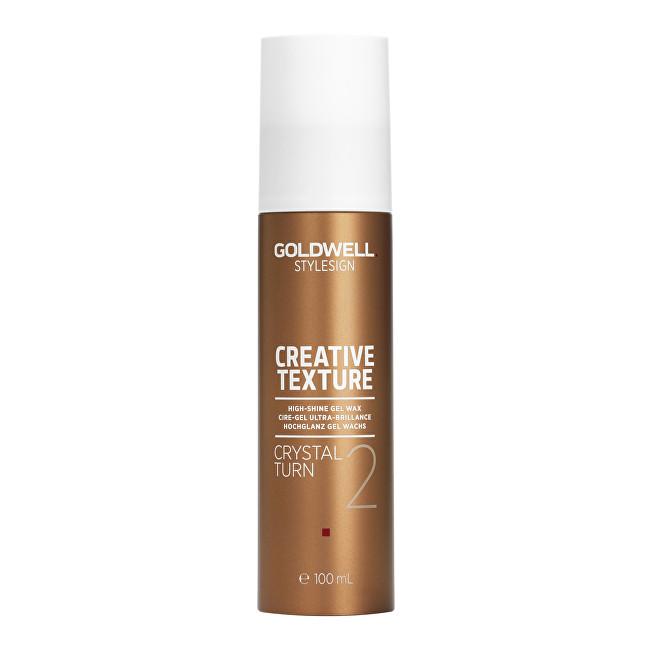 Goldwell Gelový vosk pro vysoký lesk vlasů Stylesign (Creative Texture Crystal Turn 2) 100 ml