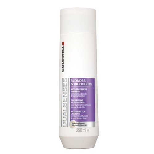 Goldwell Šampon pro blond a melírované vlasy Dualsenses Blondes & Highlights (Anti-Brassiness Shampoo) 250 ml