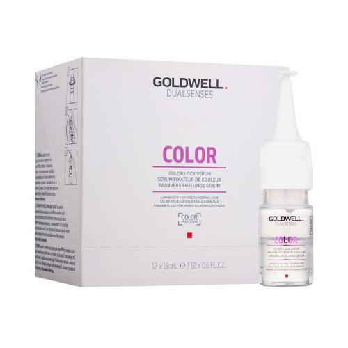Goldwell Bezoplachové sérum pro jemné barvené vlasy Dualsenses Color (Color Lock Serum) 12 x 18 ml