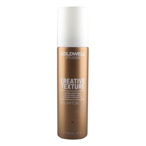 Goldwell Vosk na vlasy v spreji StyleSign Creative Texture (Strong Spray Wax Unlimitor 4) 150 ml