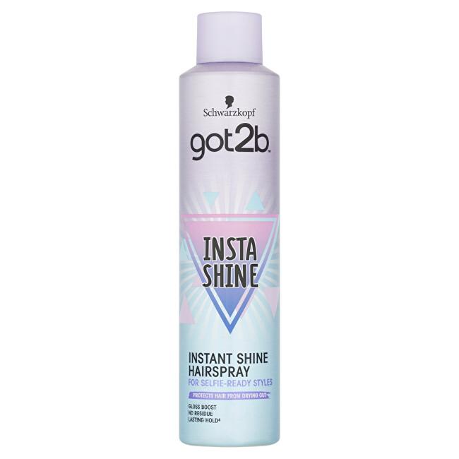 Got2b Lak na vlasy pro okamžitý lesk Insta-shine (Instant Shine Hairspray) 300 ml