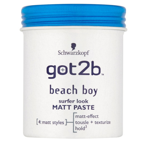 Got2b Matná pasta na vlasy Beach Boy (Surfer Look Matt Paste) 100 ml