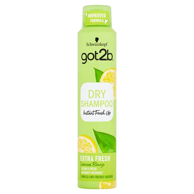 Got2b Osvěžující suchý šampon Fresh it Up Extra Fresh (Dry Shampoo) 200 ml