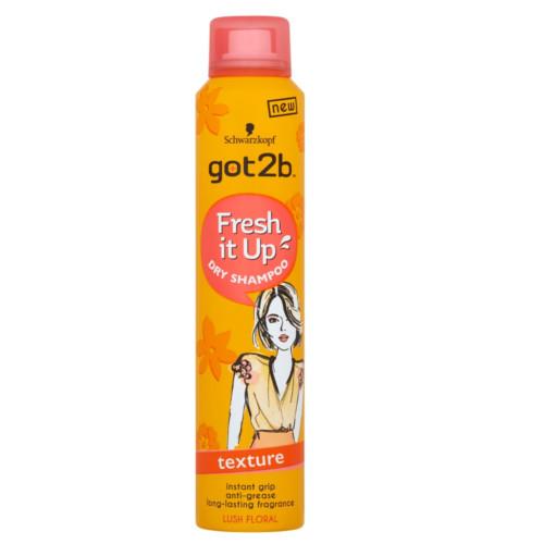 Got2b Strukturující suchý šampon Fresh it Up Texture (Dry Shampoo) 200 ml
