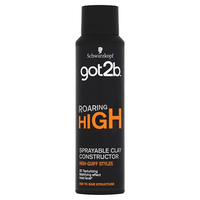 Got2b Stylingová hlína ve spreji Roaring High (Sprayable Clay) 150 ml
