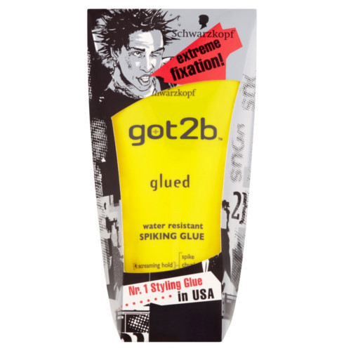 Got2b Stylingový gel na vlasy Glued (Water Resistant Spiking Glue) 150 ml