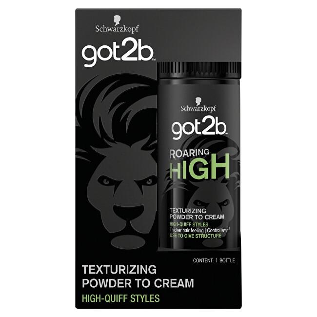 Got2b Texturující pudr v prášku pro pocit hustších vlasů Roaring High (Texturizing Powder To Cream) 15 g