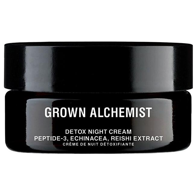 Grown Alchemist Detoxikační noční pleťový krém Peptide-3, Echinacea, Reishi Extract (Detox Facial Night Cream) 40 ml