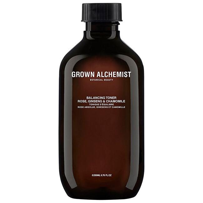 Grown Alchemist Pleťové tonikum Rose, Ginseng & Chamomile (Balancing Toner) 200 ml