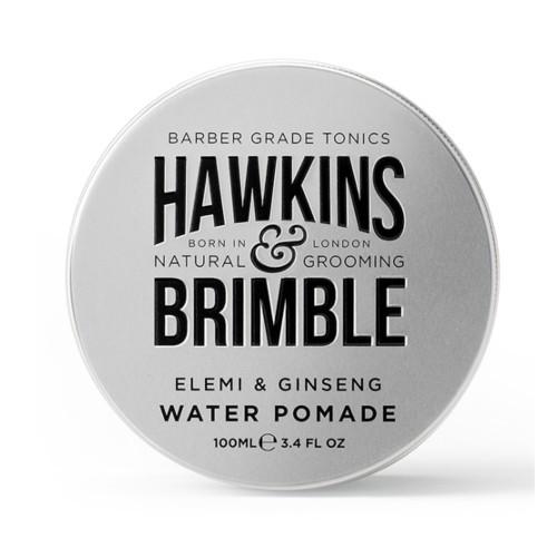 Hawkins & Brimble Pomadă pentru părpe bază de apă cuparfum de elemi si ginseng (Elemi & Ginseng Water Pomade) 100 ml