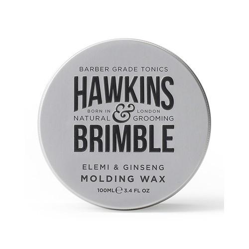 Hawkins & Brimble Vosk na vlasy s vůni elemi a ženšenu (Elemi & Ginseng Molding Wax) 100 ml - SLEVA - poškozená krabička