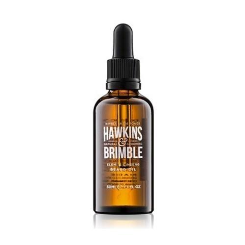 Hawkins & Brimble Vyživující olej na vousy a knír (Elemi & Ginseng Beard Oil) 50 ml
