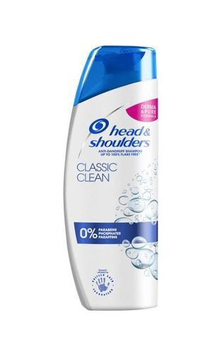 Head & Shoulders Šampon proti lupům Classic Clean (Anti-Dandruff Shampoo) 400 ml