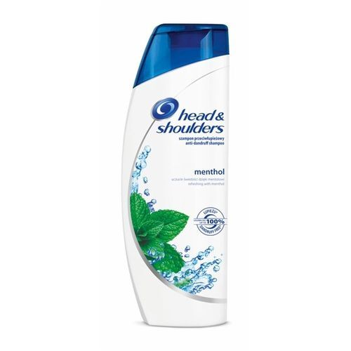 Head & Shoulders Šampon proti lupům s Mentholem (Anti-Dandruff Shampoo) 400 ml