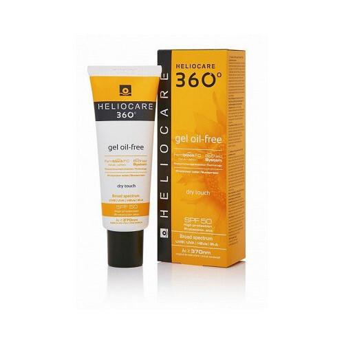 Heliocare Gel na opalování bez oleje SPF 50 360° (Gel Oil-Free) 50 ml