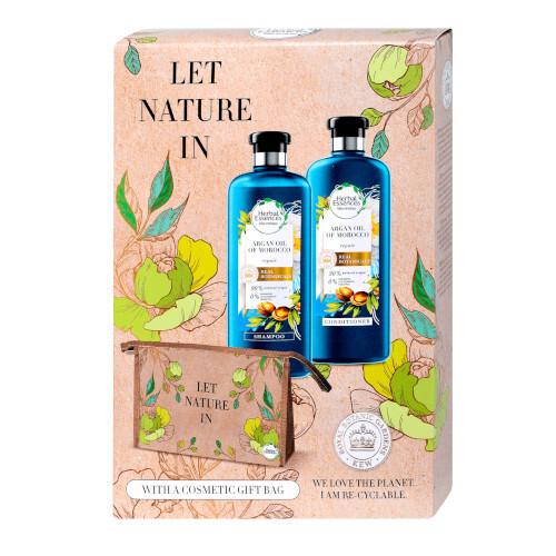 Herbal Essences Darčeková sada vlasovej starostlivosti Let Nature In