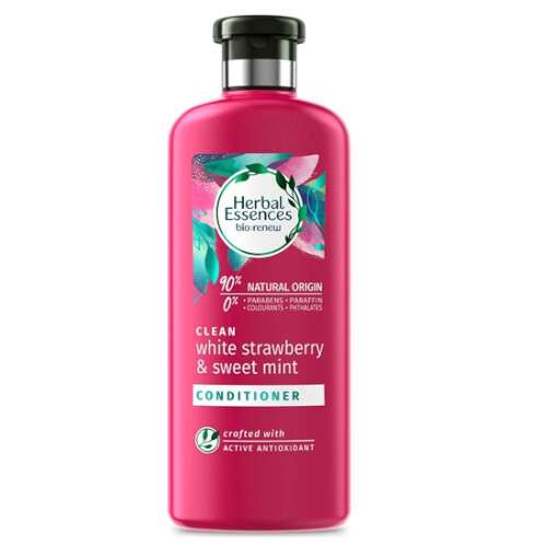 Herbal Essences Čistiace kondicionér na vlasy Clean White Strawberry & Sweet Mint (Conditioner) 360 ml