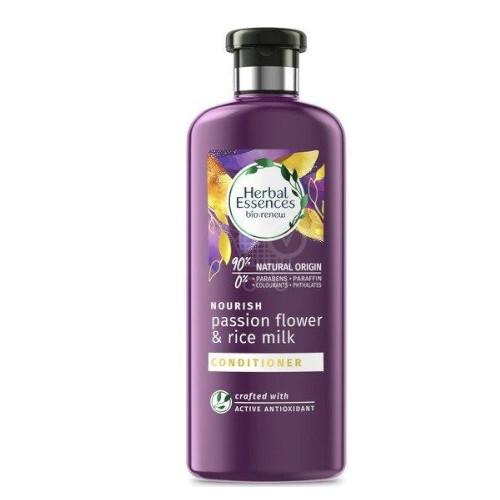 Herbal Essences Vyživující kondicionér na vlasy Nourish Passion Flower & Rice Milk (Conditioner) 360 ml