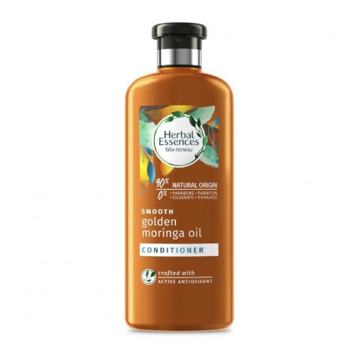 Herbal Essences Uhladzujúci kondicionér na vlasy Smooth Gold en Moringou Oil (Conditioner) 360 ml