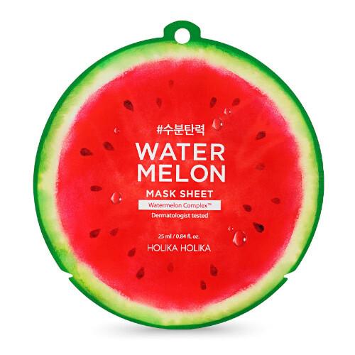 Holika Holika Plátýnková maska s hydratačním a zklidňujícím účinkem Water Melon (Mask Sheet) 25 ml
